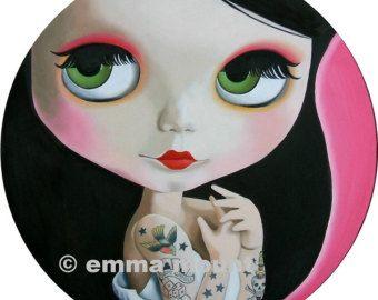 muñeca Blythe imprimir edición limitada 12/100 por EmmaMount