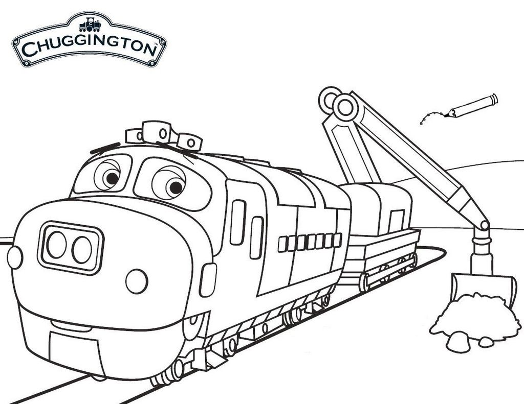 Pin On Chuggington Coloring Pages