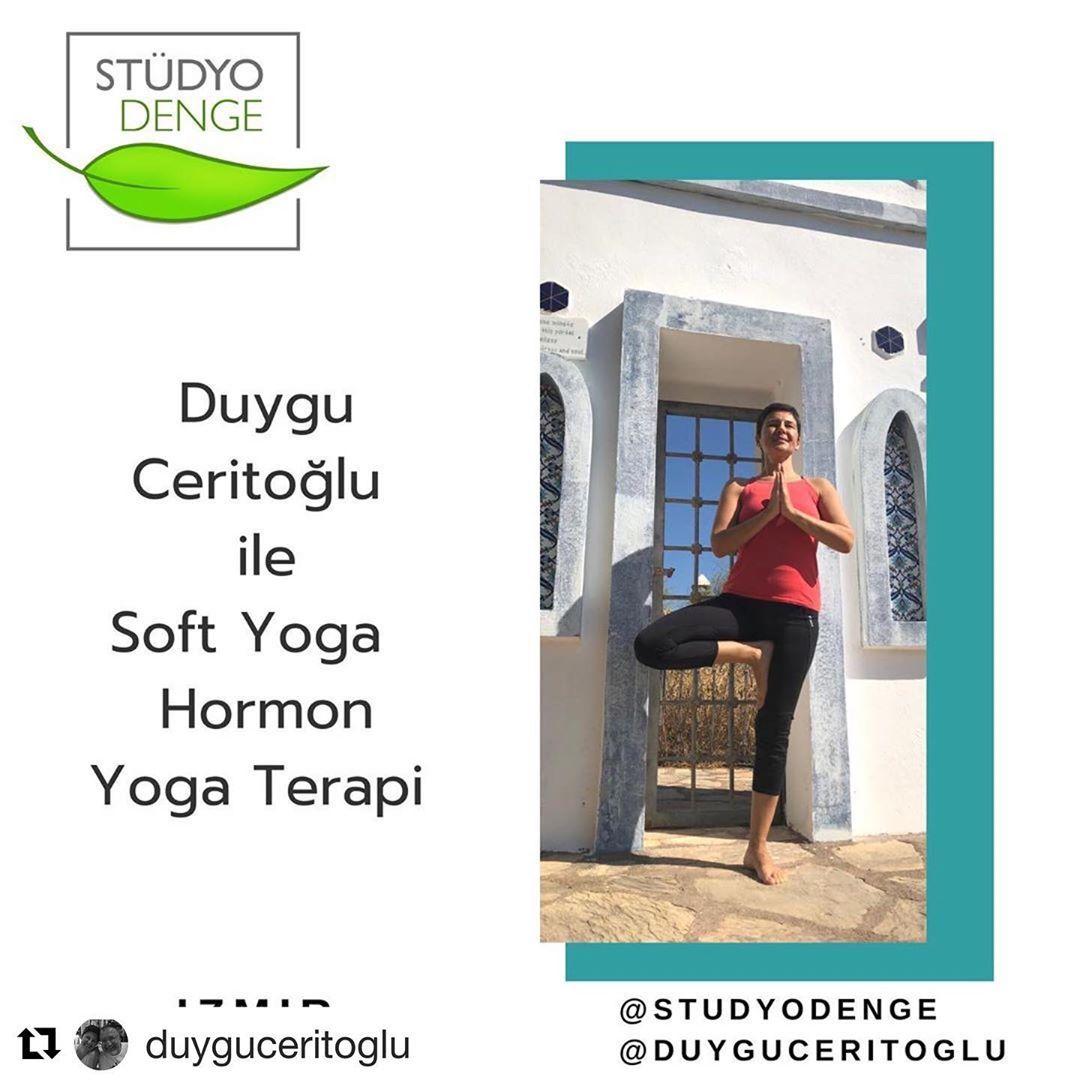 #Repost @duyguceritoglu with @get_repost ・・・ 🌱 @studyodenge de #softyoga Perşembe 19:30 dersim ba...
