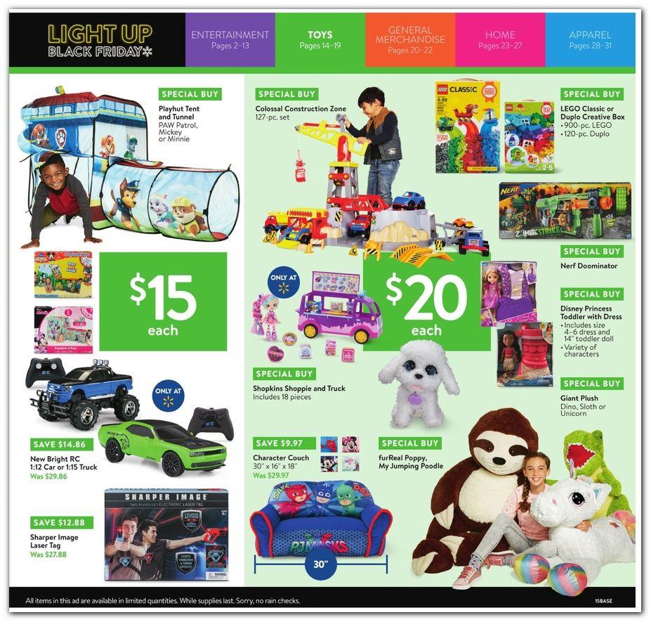 Walmart Black Friday Ad for 2018   Kids Xmas list ideas   Walmart ...