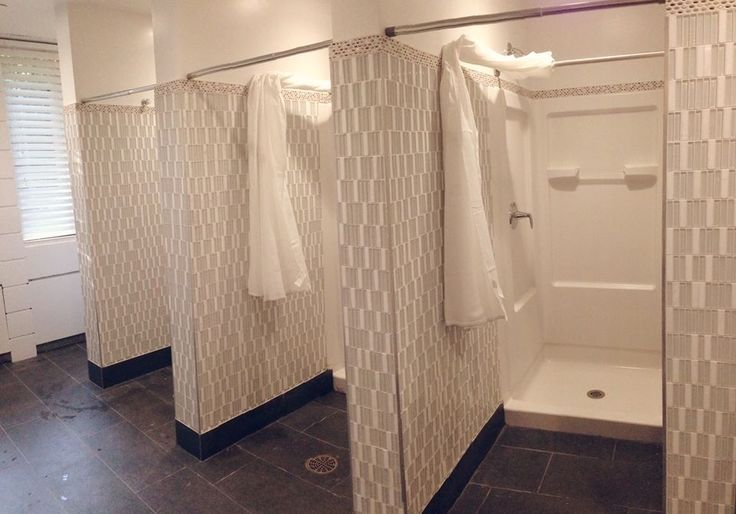 sorority house bathroom design - Google Search | Delta Sigma ...