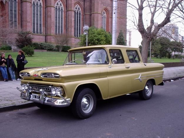 1960 Argentina Chevy Truck Double Cabs Trucks The 1947 Present