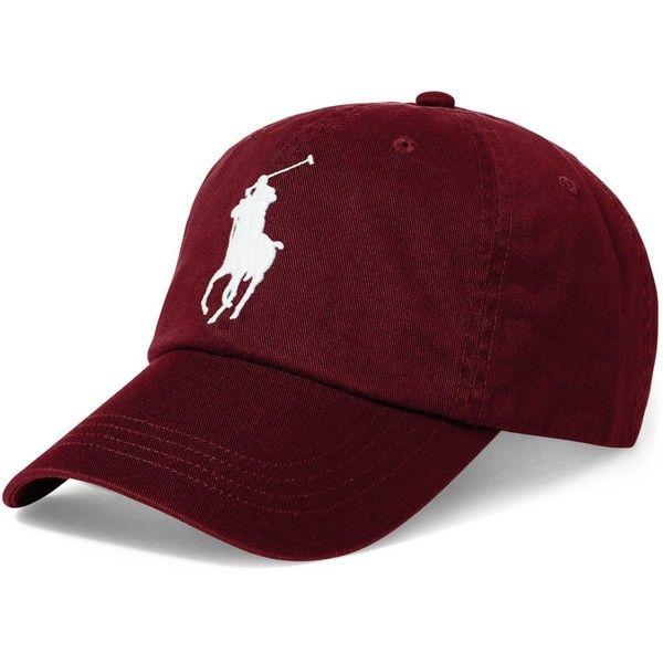 Polo Ralph Lauren Men's Big Pony Cap ($50) ❤ liked on Polyvore featuring  men's