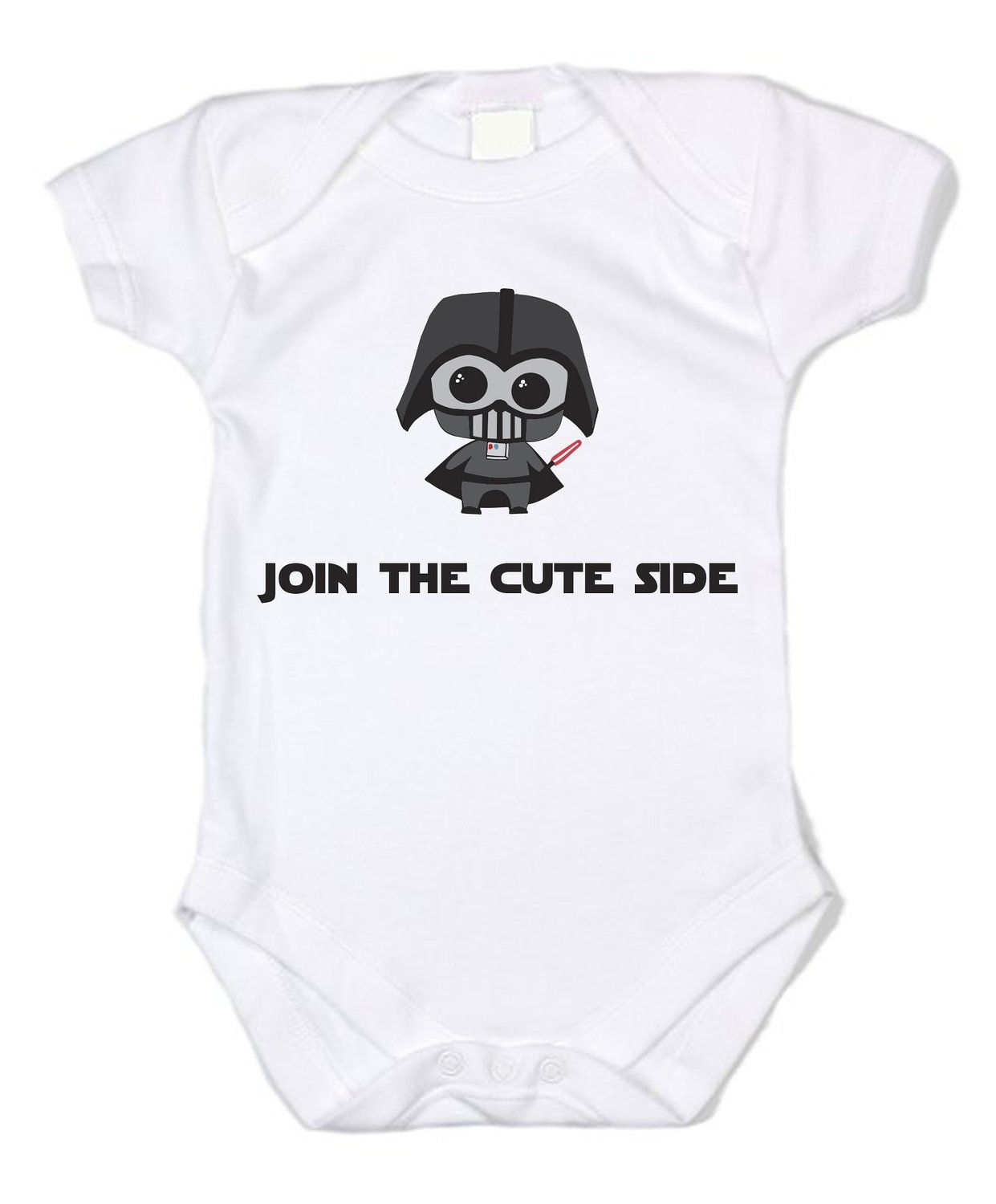 Star Wars Join The Cute Side Unisex Baby Bodysuit Gifts
