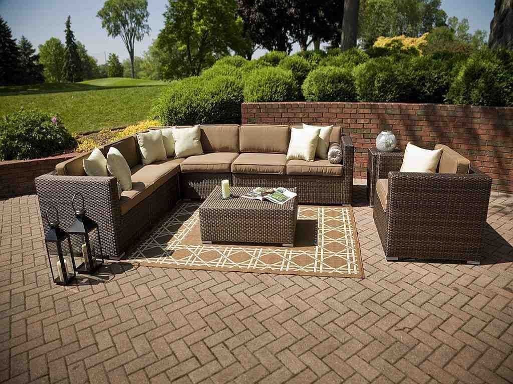 sectional wicker patio resin furniture outdoor pin