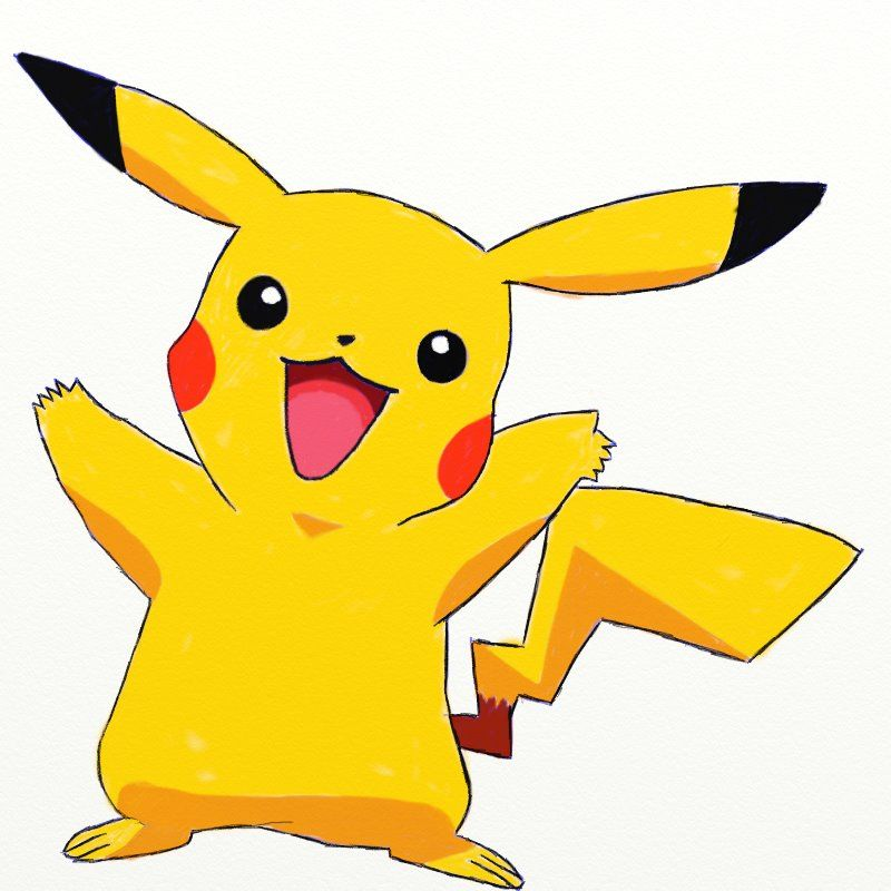 How To Draw Pikachu From Pokemon Draw Step By Step Cartoon Drawings Of Animals Pikachu Drawing Easy Animal Drawings