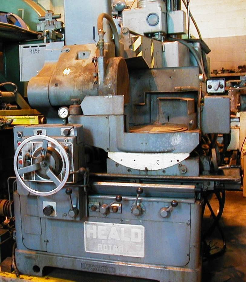 Heald Model 261 Rotary Surface Grinder Machines Rotary