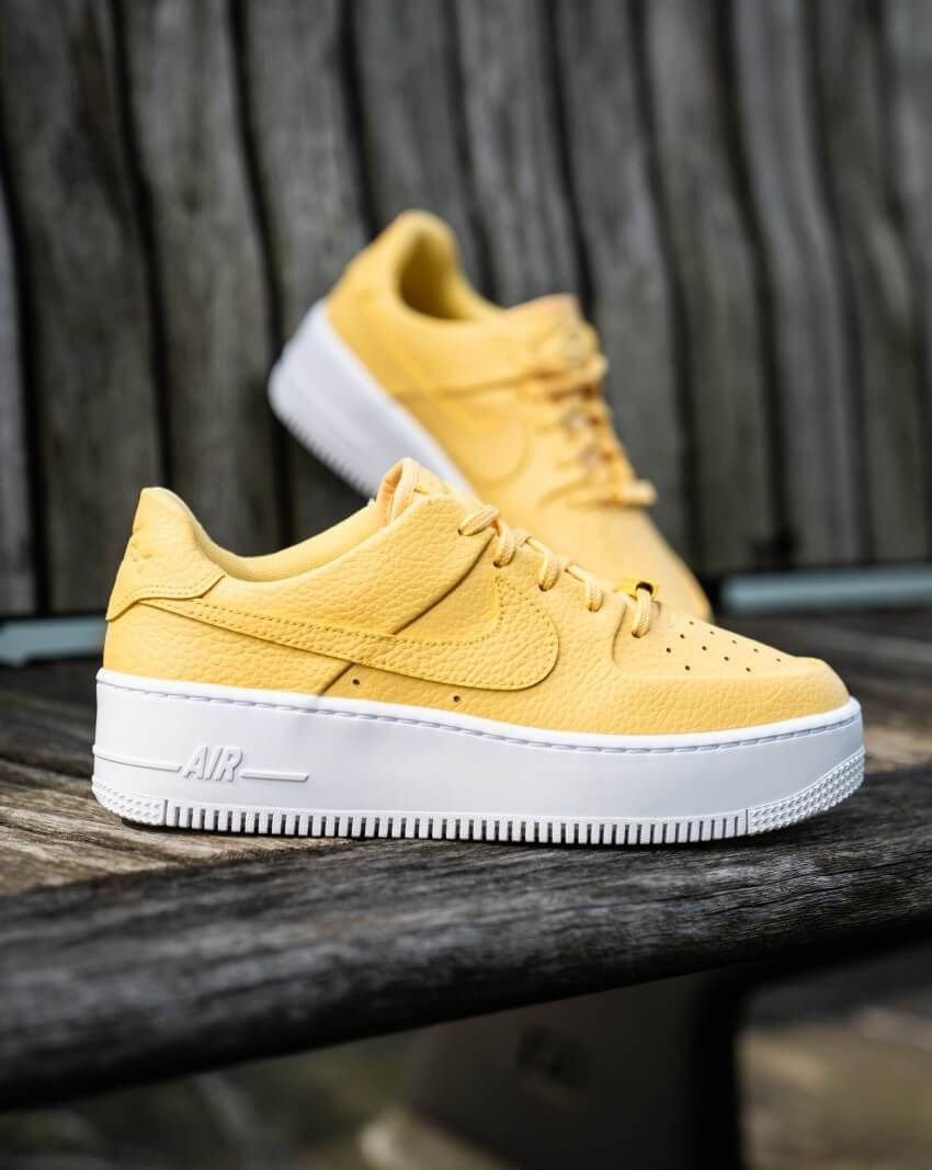 air force 1 gris et jaune
