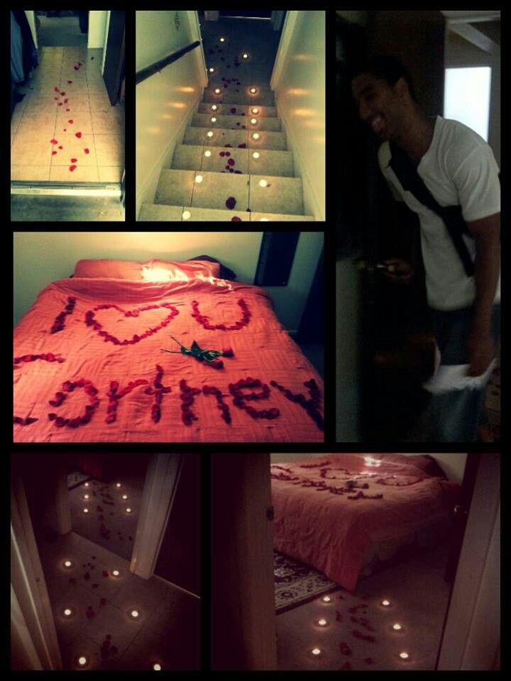 Boyfriend romantic ideas