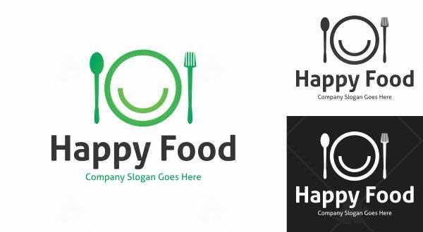 Happy Food Logo Logo Food Happy Foods Logos
