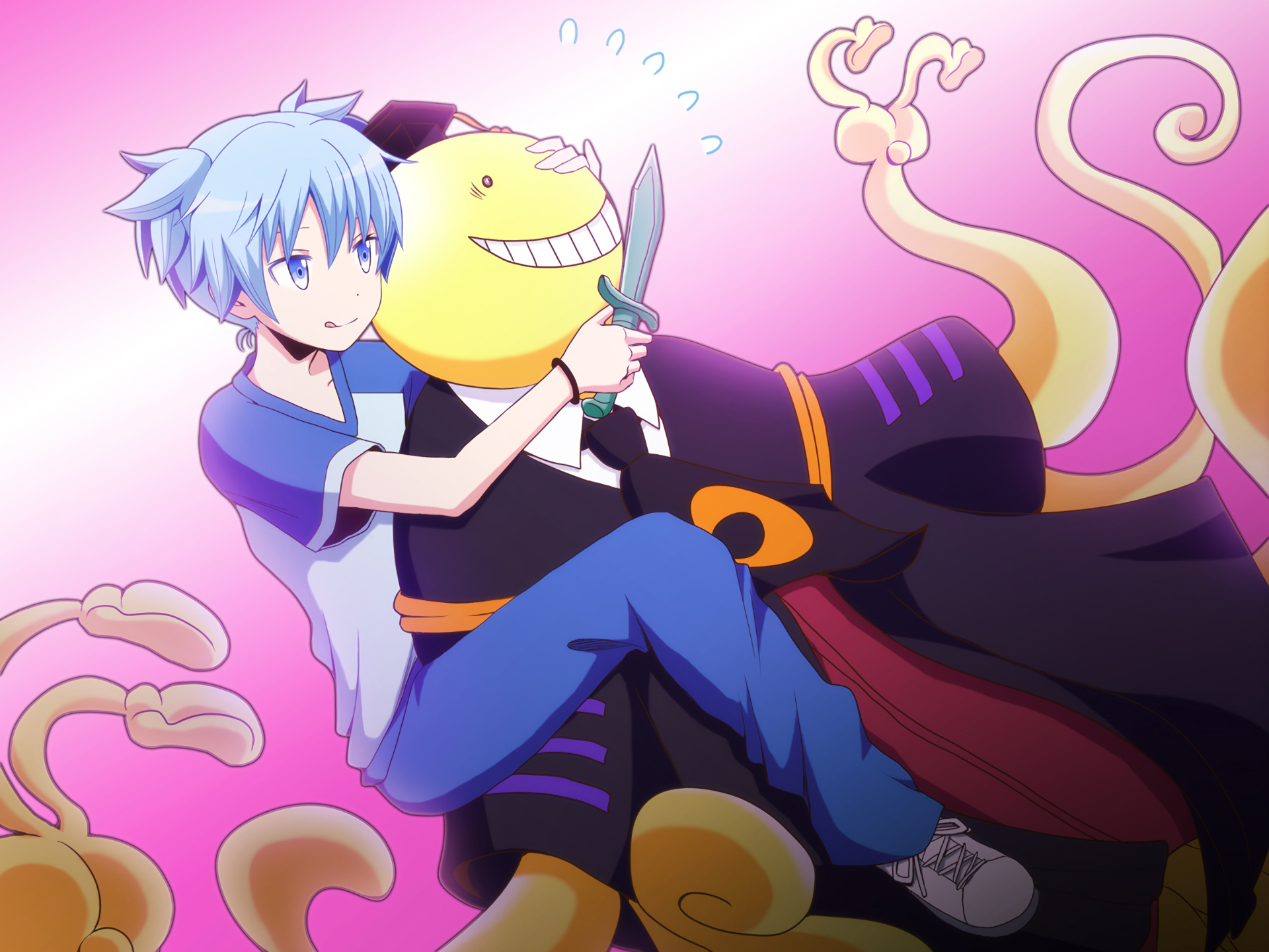 Anime assassination classroom koro sensei nagisa shiota - Anime wallpaper assassination classroom ...