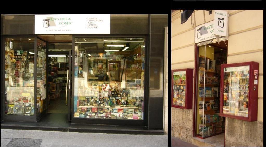 Especial tiendas especializadas en cómics. Castilla Cómic | El Blog de Cómics