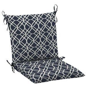 Hampton Bay Midnight Sandollar Mid Back Outdoor Chair Cushion Discontinued Jc22552x 9d1 The Home Depot Outdoor Chair Cushions Chair Cushions Chair