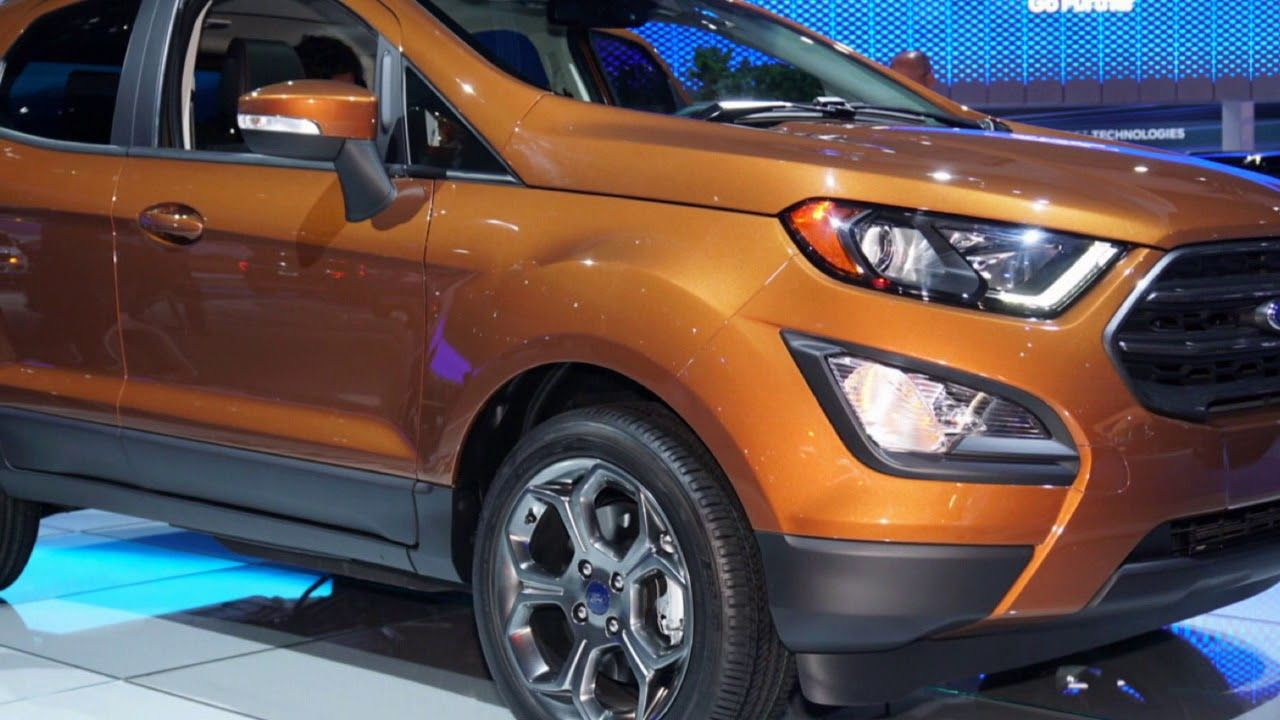2018 Ford Ecosport Safety [DONT MISS] 2018 ford ecosport