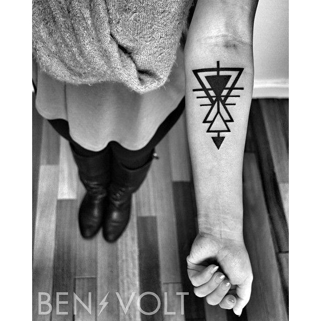 Benvolt Tattoos Feather Tattoos Abstract Tattoo