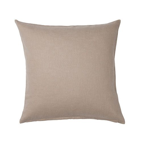 VIGDIS Putetrekk IKEA Trekket er laget av rami; et slitesterkt og absorberende materiale med litt ujevn tekstur.