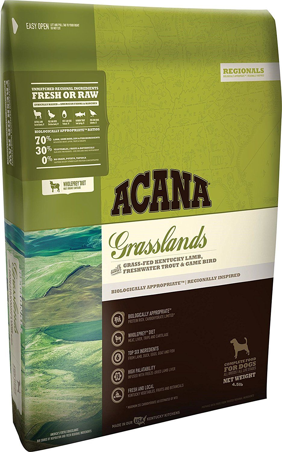 Acana Regionals Grasslands for Dogs, 4.5lbs * To view