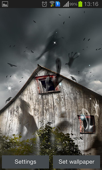 Haunted House Live Wallpaper Android Apps on Google Play