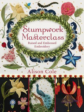 New Stumpwork Book now accepting Pre-Orders!  www.alisoncoleembroidery.com.au