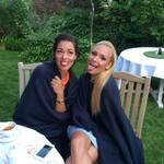 Ana Ivanovic: Time for a little silliness at the pre-Wimbledon party ; )