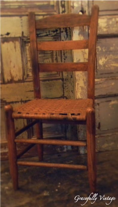 Old Wood Chairjust Cant Have Too Many Of These I Have A Thing
