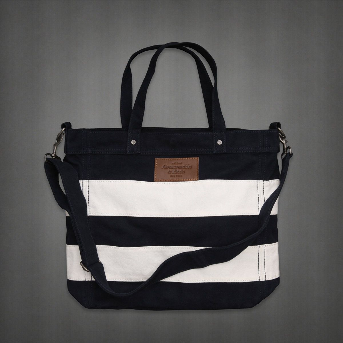 Classic Tote Bag | Abercrombie.com | Check out our Pin To Win Challenge at http://on.fb.me/UfLuQd
