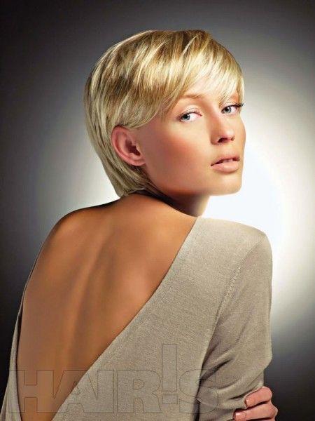 Short hair Coupes de cheveux faciles, Cheveux courts