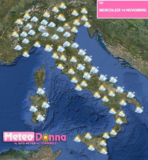 Meteo Forte maltempo domenica al centro nord, Toscana e