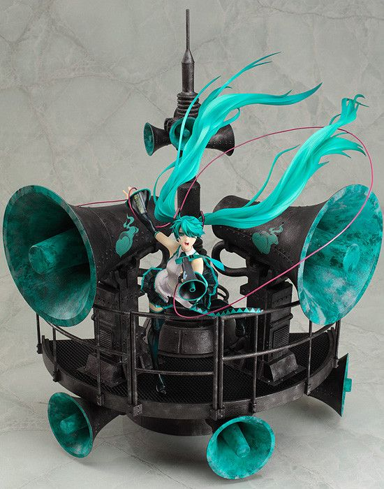 We got this last Feb 2012! Waiting for a worthy display case / area before opening the box :D (Hatsune Miku, #Vocaloid)
