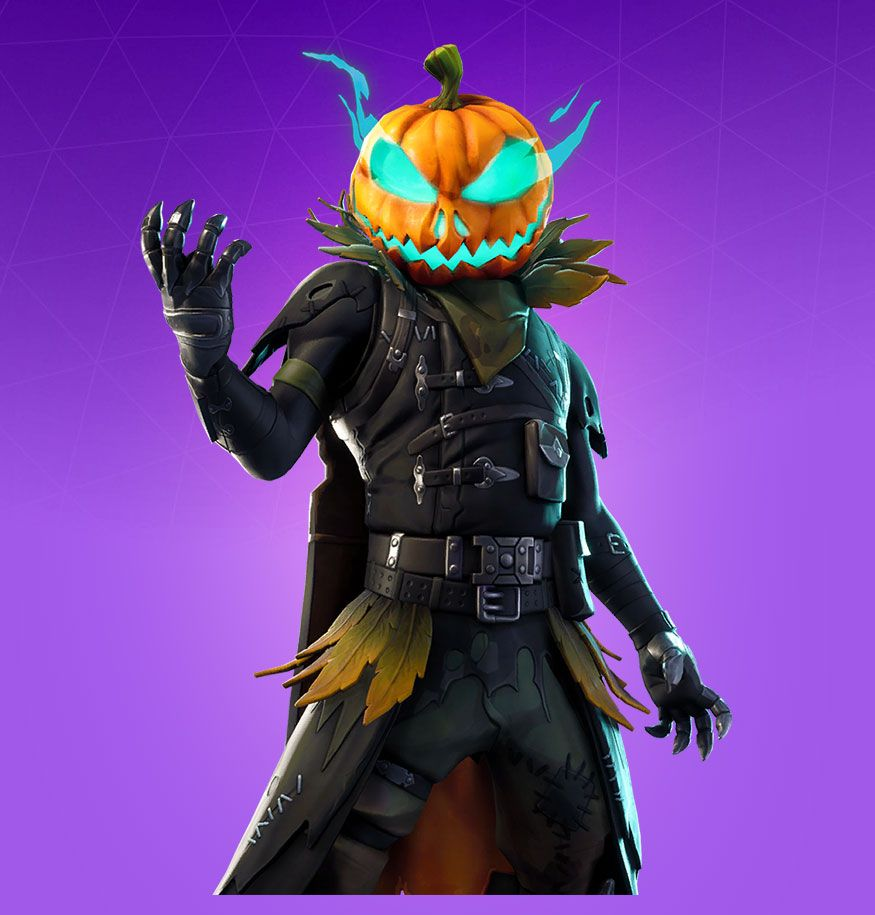 fortnite skin name pumpkin head - courage fortnite name