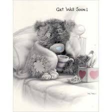Tatty Teddy - Get well soon