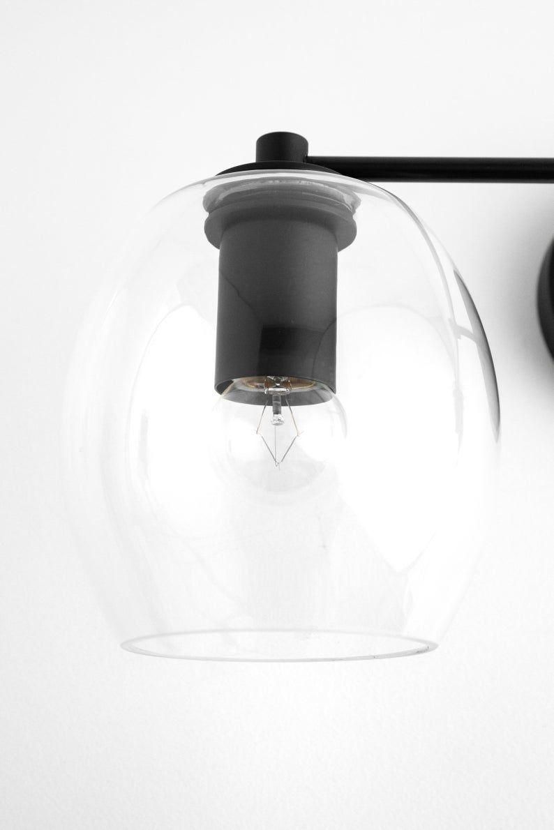 Photo of Clear Globe Basin Lamp – Open Globe – Brass Basin – Bathroom Faucet – Brass Bathroom Lamp – Glass Ball – Model No. 9660