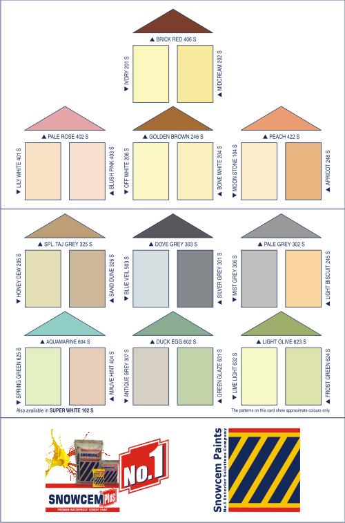 Snowcem Paints Snowcem Plus Shadecard Places To Visit Pinterest Exterior Cement And