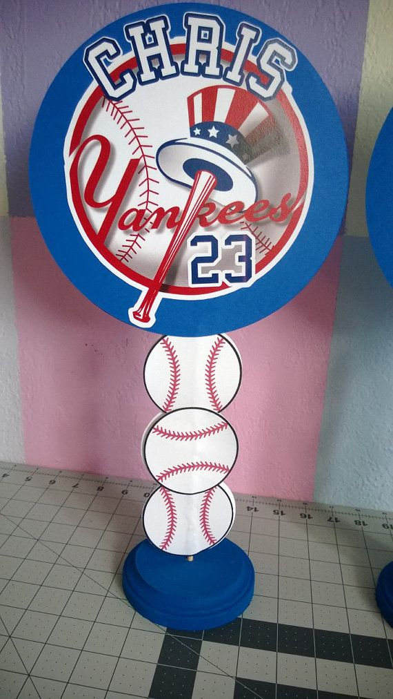 NY Yankees Centerpiece by Lylashop on Etsy 9461187a269