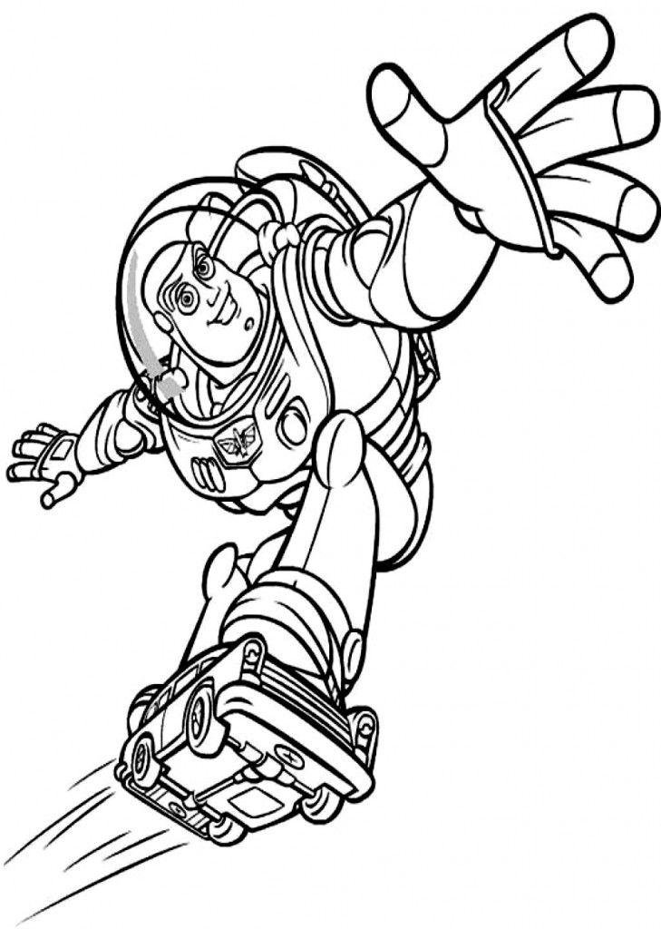 Free Printable Buzz Lightyear Coloring Pages For Kids Coloring