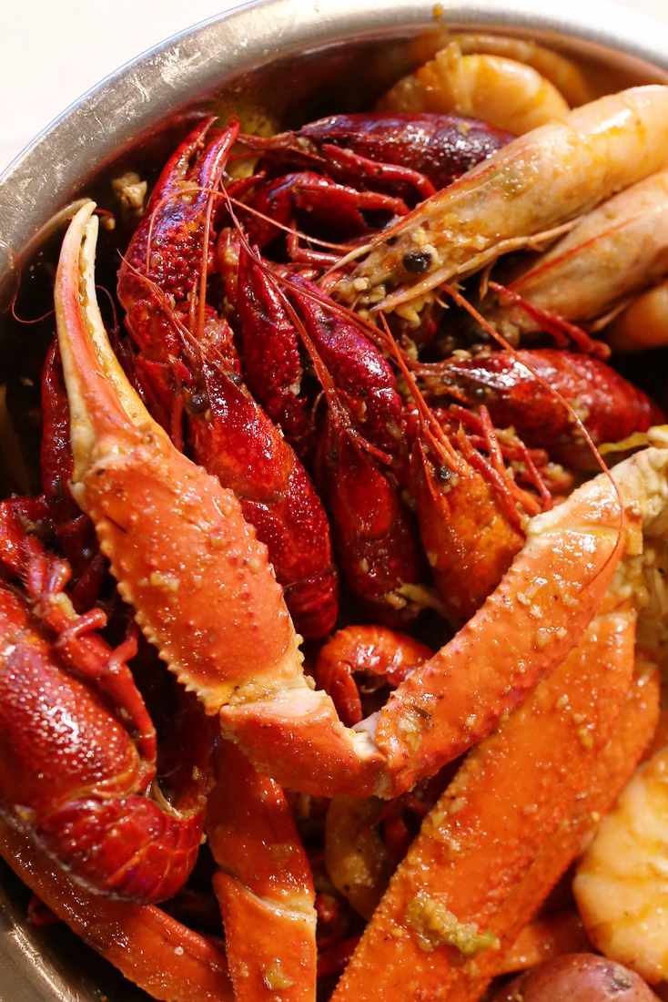 Watch This Vietnamese Cajun Crawfish Boil Takes It To The Next
