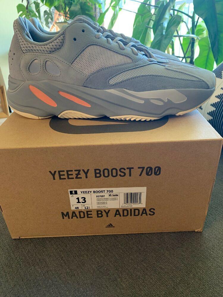 4c218b436e7 Adidas Yeezy Boost 700 Inertia DS EG7597 Size 13 Kanye West  shoes  kicks