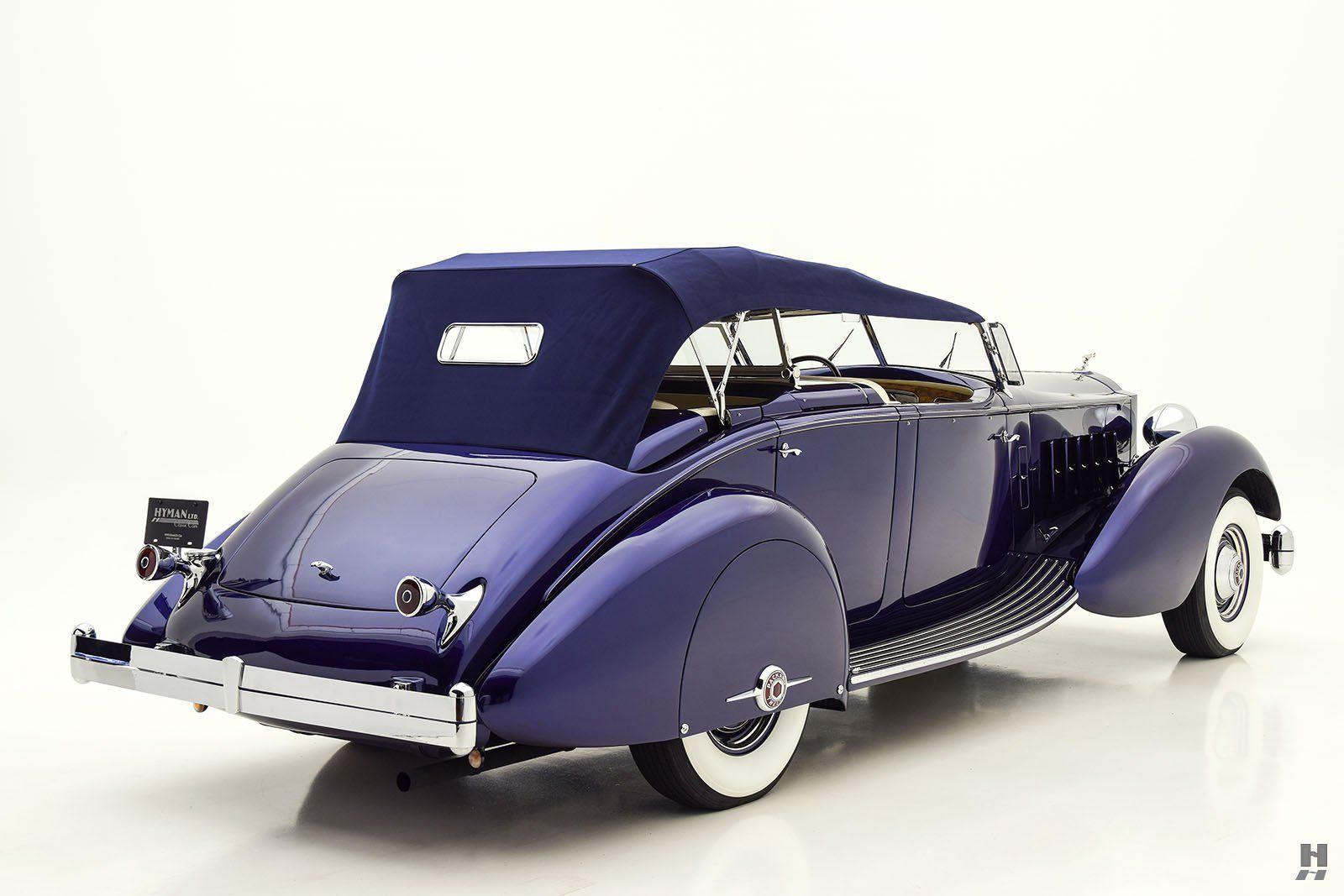 1937 Packard Twelve Dual Cowl Phaeton Classic Car For Sale | Buy ...