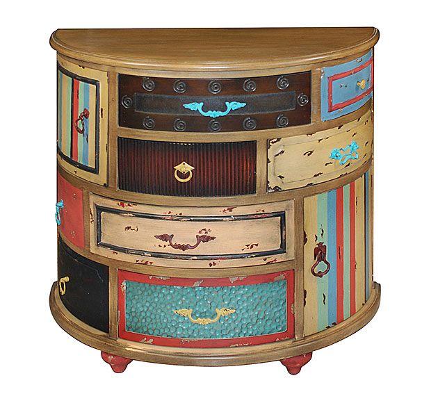 Comoda Arinos Vintage   Material: Madera Tropical   Mueble realizado en ... Eur:545 / $724.85