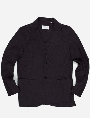 Our Legacy 2B unconstructed blazer constellation navy.