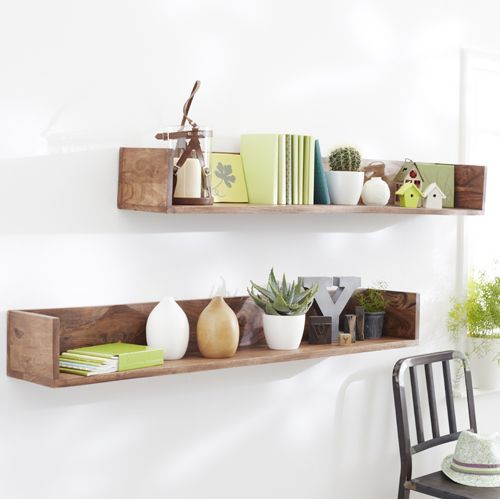 etag re murale en palissandre villa tag res murale. Black Bedroom Furniture Sets. Home Design Ideas