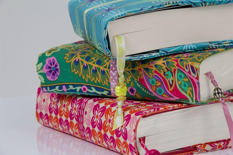 Anleitung zum Selber Nähen einer Buchhülle, Videoanleitung, Dawanda Nähschule