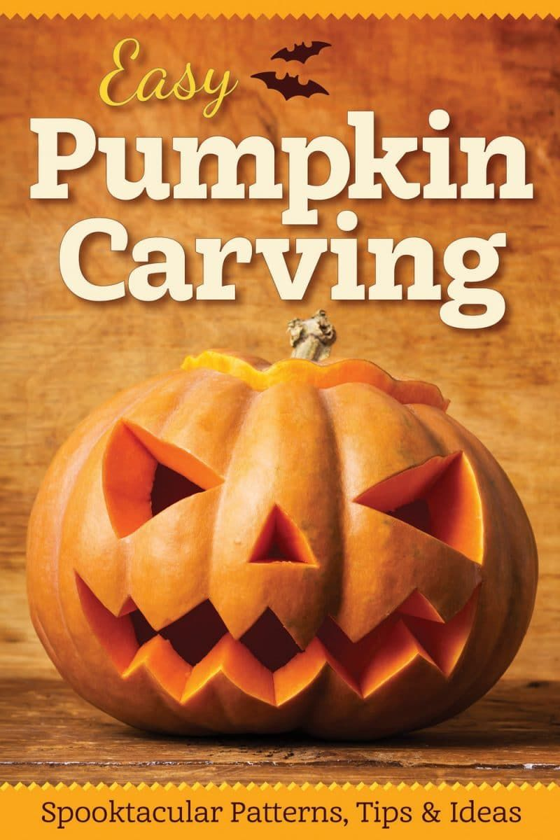 how to sculpt a pumpkin easy