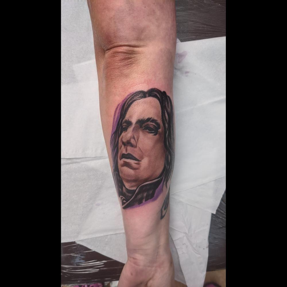 Man Face tattoo by Patrick Kodyra #tattoos #tattoo #ink #inked #tattooartist #tattooed #art #tattooart#Award-winningTattoos,