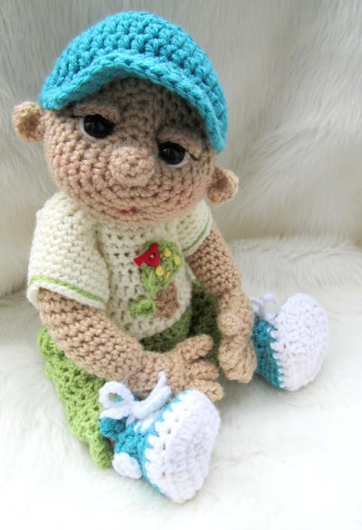 So Cute Baby Doll Play Wear Set Crochet Pinterest Crochet Awesome Crochet Baby Doll Pattern