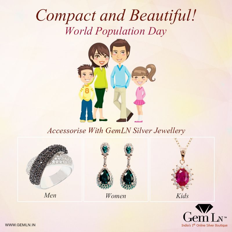 Lightweight Jewellery For The Modern Family Worldpopulationday 11july Wpd2015 Light Weight Jewelry Mens Jewelry Jewelry