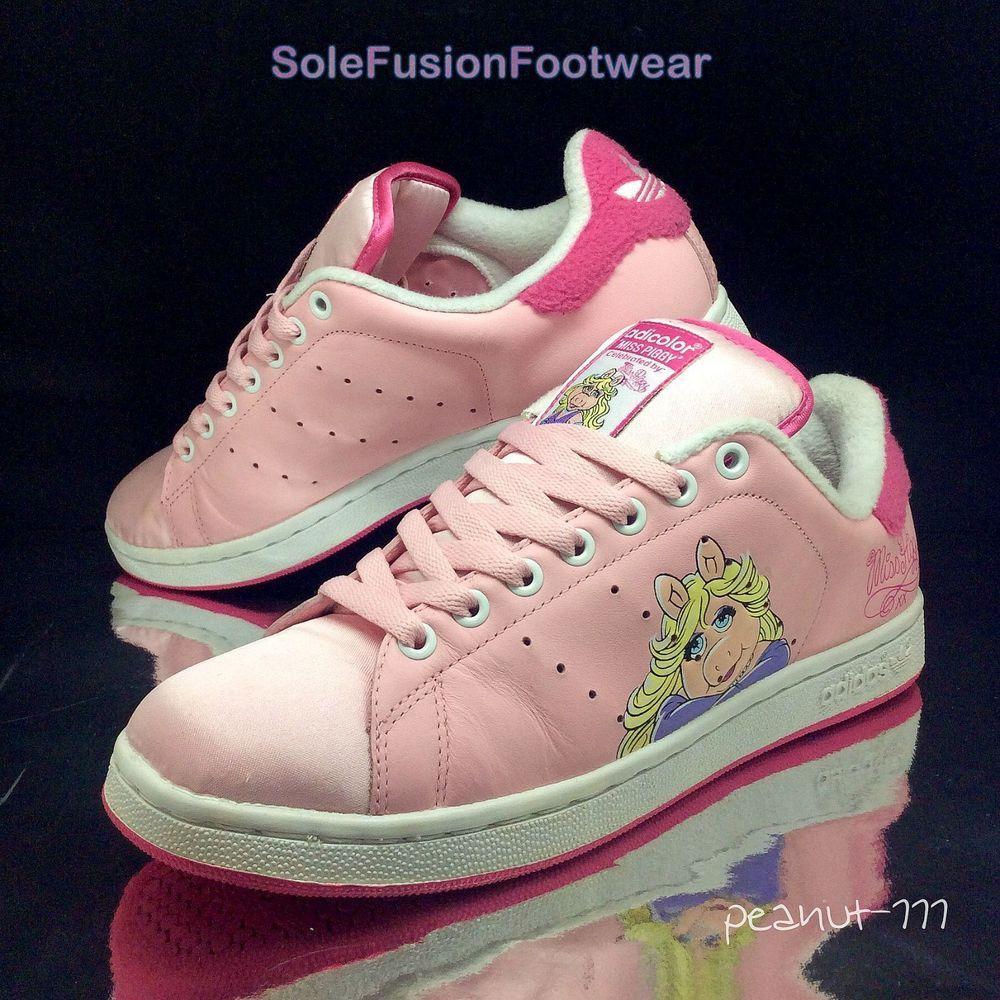 Schuhe adidas Damen Miss Stan W schwarz | eBay