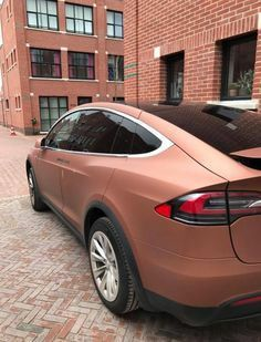 Tesla Matte Rose Gold Cars Pinterest Cars Dream Cars And