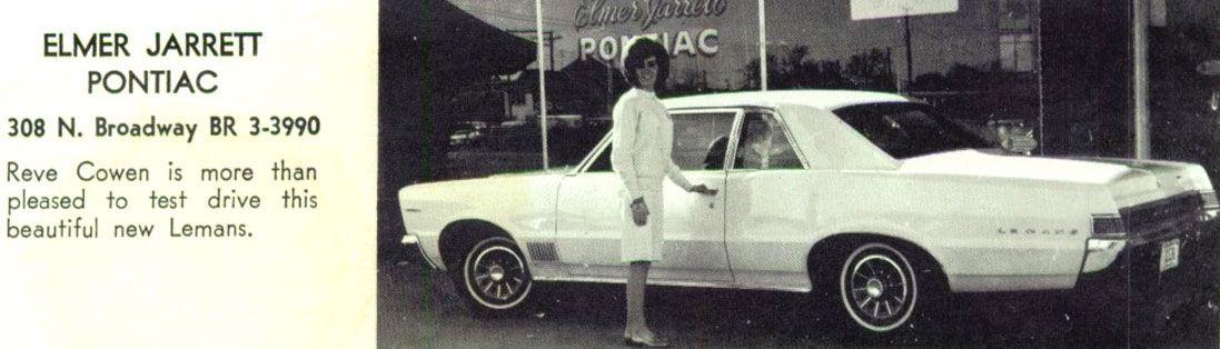 Elmer Jarrett Pontiac Dealership, Tyler, Texas Pontiac