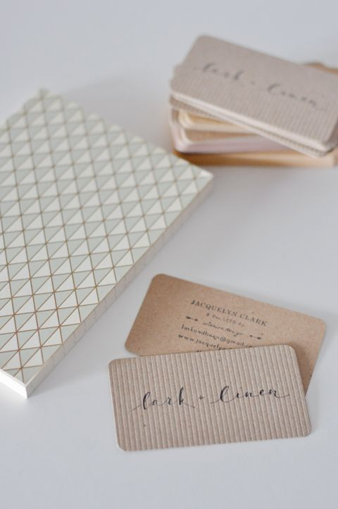 stamped business cards inexpensive and so lovely - Inexpensive Business Cards